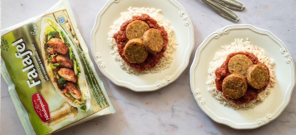 συνταγή: «Σουτζουκάκια» Φαλάφελ με Ρύζι