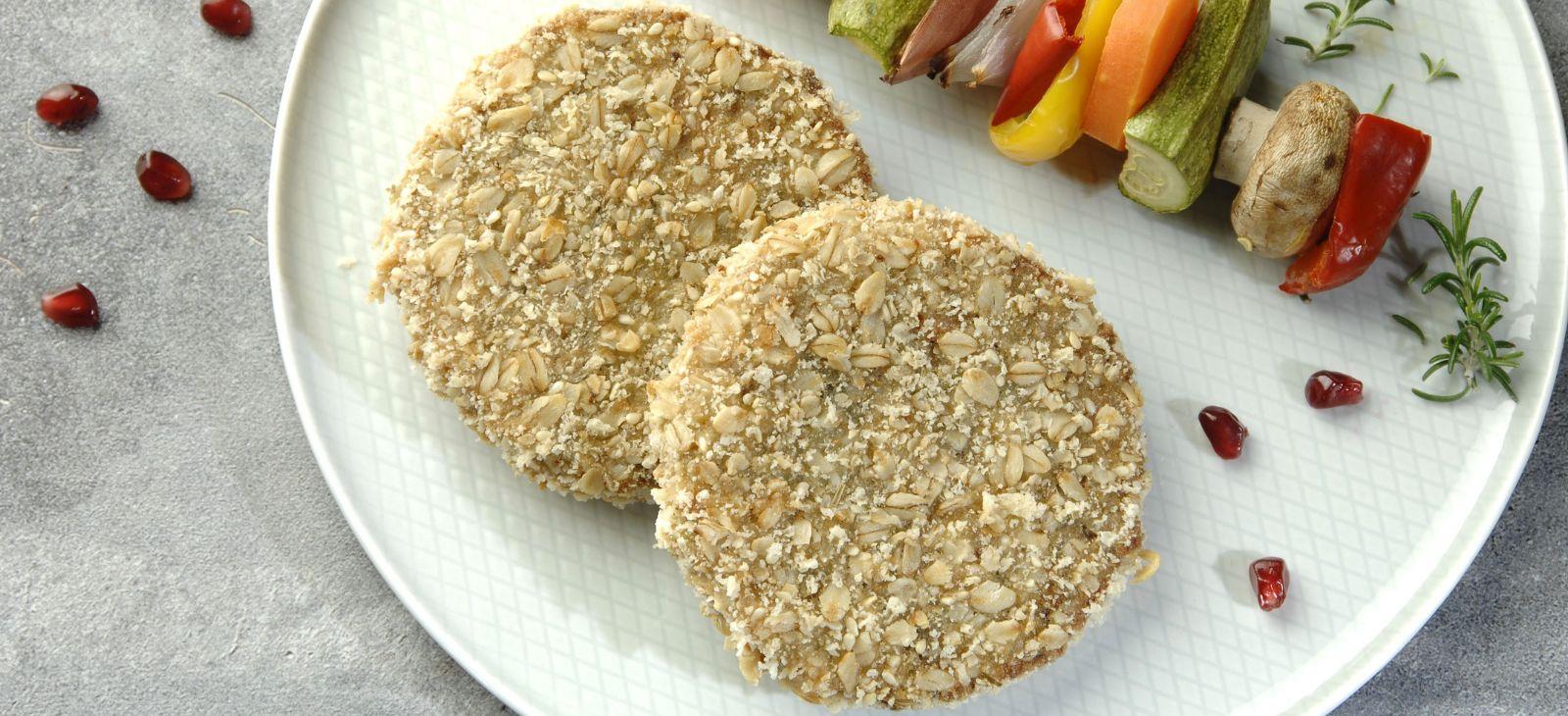 Crispy μπιφτέκι λαχανικών-superfoods