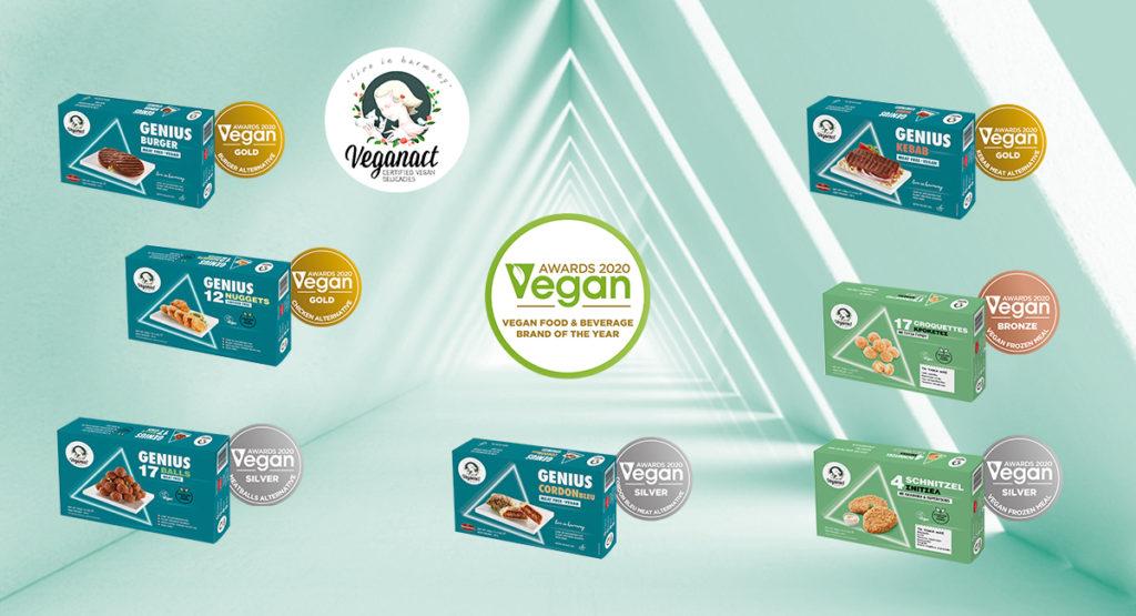 Μάρκα της Χρονιάς 2020 στα Vegan Awards  η Veganact της εταιρείας Nikolopoulou